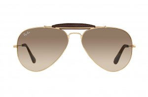 Очки Ray-Ban Craft Outdoorsman RB3422Q-001-51 Arista/Insert Brown Leather/Faded Brown