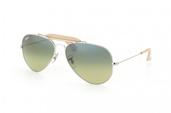 Очки Ray-Ban Craft Outdoorsman RB3422Q-003-28 Silver | Blue Faded Yellow