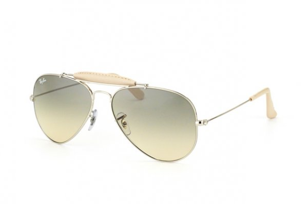 Очки Ray-Ban Craft Outdoorsman RB3422Q-003-32 Silver | Gradient Grey