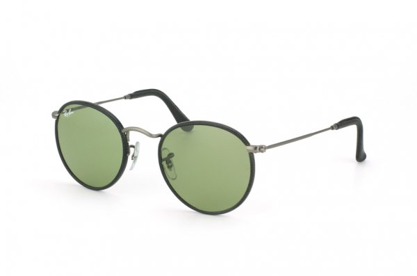 Очки Ray-Ban Craft Round Metal RB3475Q-029-14 Matte Gunmetal | Green