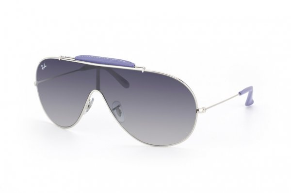 Очки Ray-Ban Craft Wings RB3416Q-108-8G Silver/APX Gradient Grey