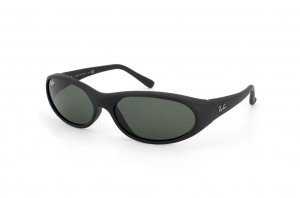 Очки Ray-Ban Daddy-O RB2015-W2581 Matt Black | Natural Green