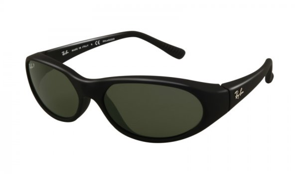 Очки Ray-Ban Daddy-O RB2015-W2688 Matt Black | Natural Green (G-15 XLT)