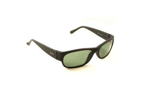 Очки Ray-Ban Daddy-O RB2042-W3104 Matte BLack | Natural Green (G-15XLT)