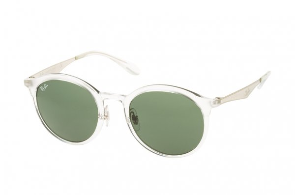 Очки Ray-Ban Emma RB4277-6323-71 White / Silver | Grey/Green