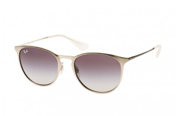 Очки Ray-Ban Erika Metal RB3539-9078-8G Silver | Gradient Grey