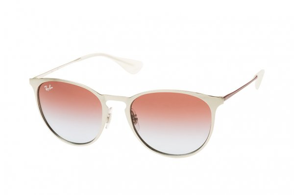 Очки Ray-Ban Erika Metal RB3539-9079-I8 Silver/Red | Violet Gradient