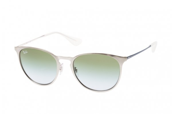 Очки Ray-Ban Erika Metal RB3539-9080-I7 Silver/Blue| Green Gradient