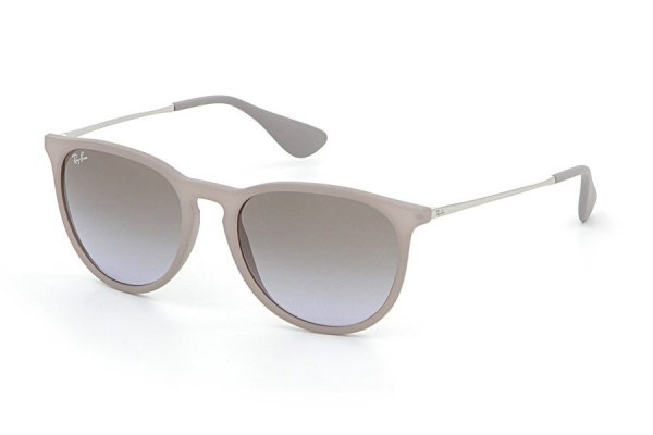 Очки Ray-Ban Erika RB4171-6000-68 Sand Rubber | APX Brown Faded Violet