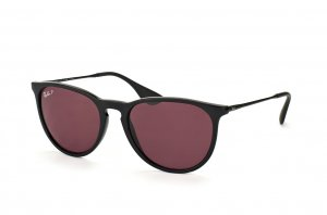 Очки Ray-Ban Erika RB4171-601-5Q Black | Pink/Violet Polarized