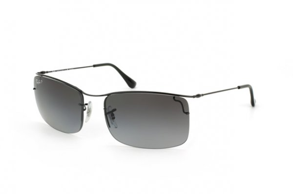 Очки Ray-Ban Flip Out RB3499-002-T3 Black | Gradient Grey Polarized