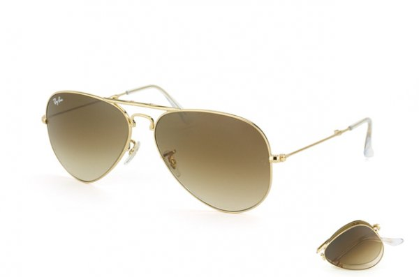 Очки Ray-Ban Folding Aviator RB3479-001-51 Arista | Faded Brown