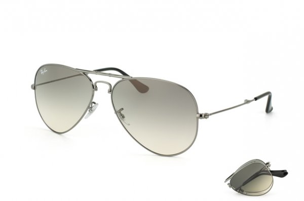 Очки Ray-Ban Folding Aviator RB3479-004-32 Gunmetal | Gradient Grey