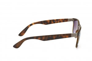 Очки Ray-Ban Folding Liteforce New Wayfarer RB4223-894-T5 Matt Havana/APX Gradient Brown  Polarized