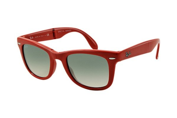 Очки Ray-Ban Folding Wayfarer RB4105-764-32 Red | Gradient Grey