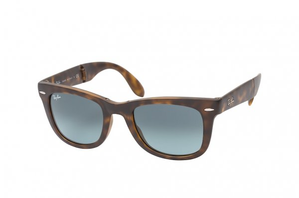 Очки Ray-Ban Folding Wayfarer RB4105-894-3M Dark Havana | Blue Gradient