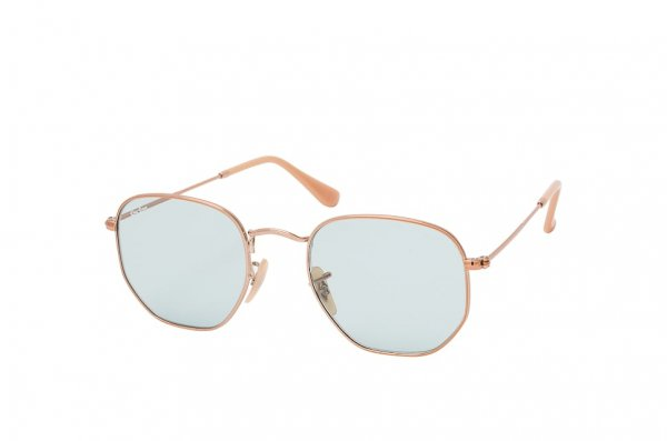 Очки Ray-Ban Hexagonal Evolve Flat Lenses RB3548N-9131-0Y Arista | Blue Photocromic