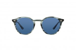 Очки Ray-Ban Highstreet RB2180-6432-80 Dark Grey | Dark Blue