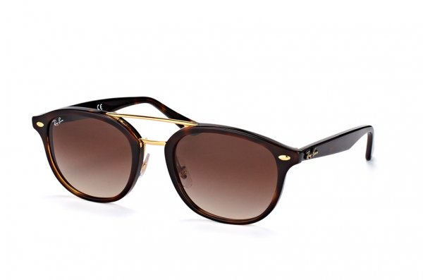 Очки Ray-Ban Highstreet RB2183-1225-13 Dark Brown | Gradient Brown