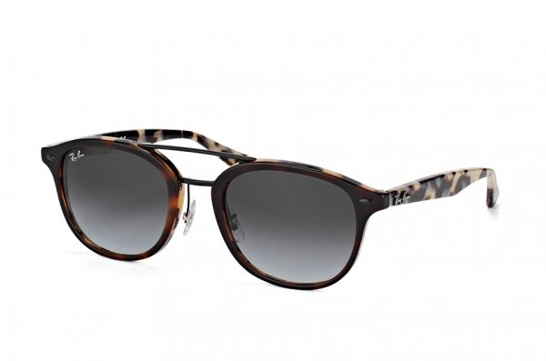 Очки Ray-Ban Highstreet RB2183-1226-8G Havana / Milk havana| Gradient Grey