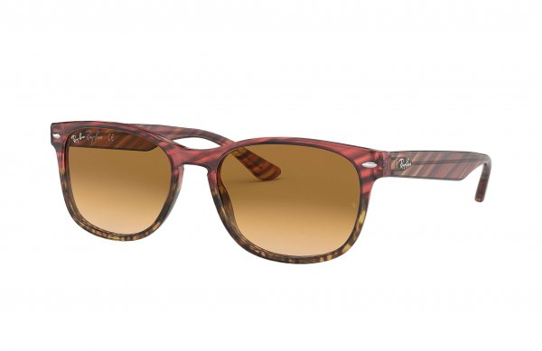 Очки Ray-Ban Highstreet RB2184-1253-51 Spotted Red | Natural Brown  Gradient