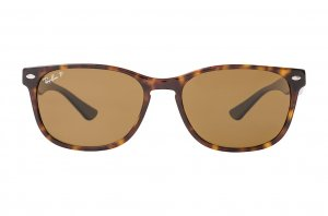 Очки Ray-Ban Highstreet RB2184-902-57 Dark Havana | Natural Brown Polarized