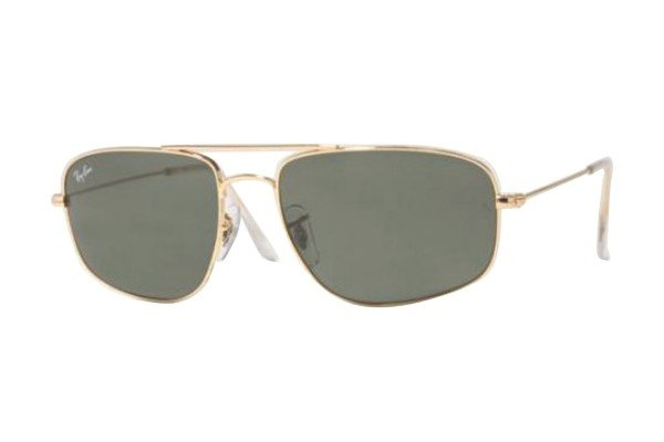 Очки Ray-Ban Highstreet RB3145-001 Arista | Natural Green (G-15 XLT)
