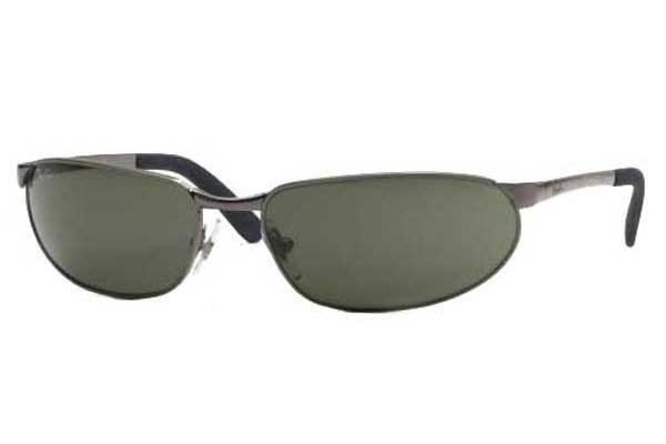 Очки Ray-Ban Highstreet RB3162-004-48 Gunmetal | Natural Green Polarized