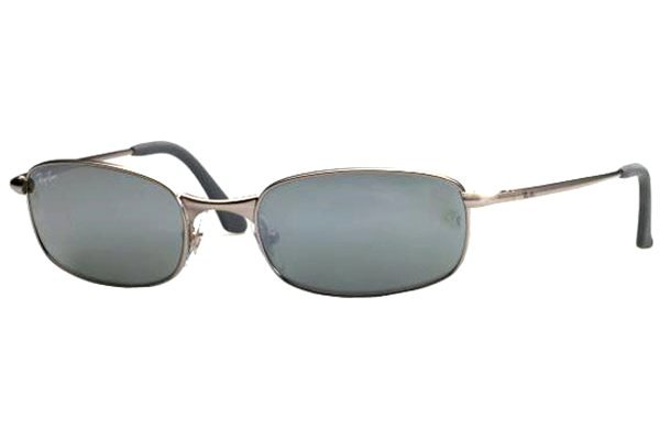 Очки Ray-Ban Highstreet RB3162-005-40 Matte Gunmetal | G-31 Mirror