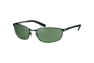 Очки Ray-Ban Highstreet RB3175-004-48 Gunmetal | Natural Green Polarized