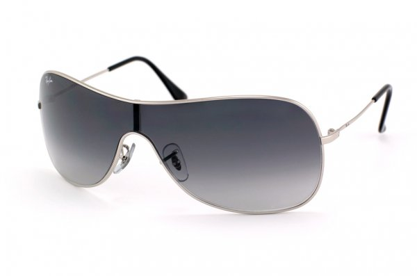 Очки Ray-Ban Highstreet RB3211-003-8G Silver | APX Gradient Grey