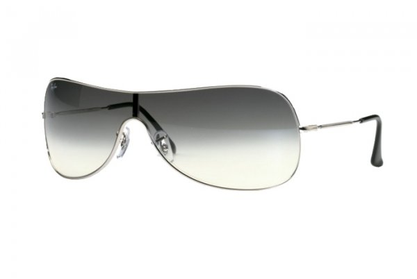 Очки Ray-Ban Highstreet RB3211-003-Z1 Silver | Light Gradient Grey
