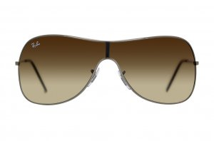 Очки Ray-Ban Highstreet RB3211-004-13 Gunmetal | Poly. Gradient Brown