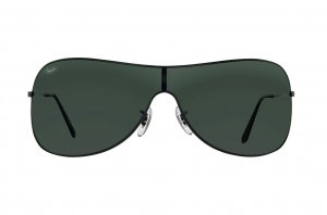 Очки Ray-Ban Highstreet RB3211-006-71 Matt Black | Grey/Green