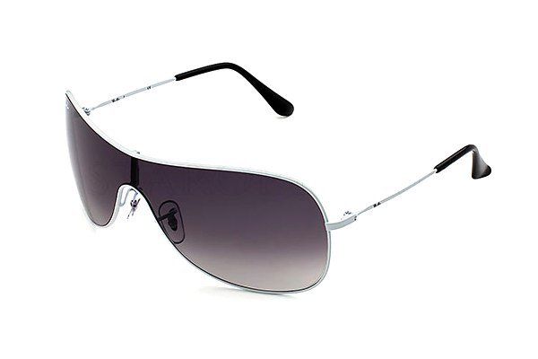Очки Ray-Ban Highstreet RB3211-032-8G White Metal | Poly. Gradient Grey