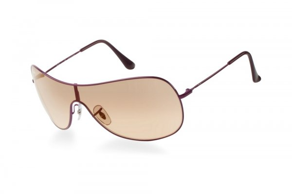 Очки Ray-Ban Highstreet RB3211-076-4H Red | Light Yellow