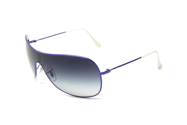 Очки Ray-Ban Highstreet RB3211-087-8G Metalic Mate Violet | APX Gradient Grey