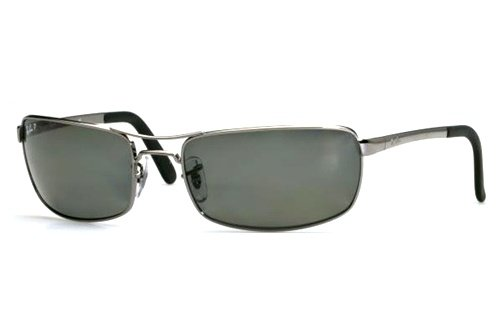 Очки Ray-Ban Highstreet RB3212-004-9A Gunmetal | APX Grey/Green Polarized