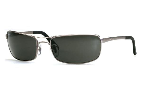 Очки Ray-Ban Highstreet RB3212-005 Matte Gunmetal | Natural Green (G-15 XLT)