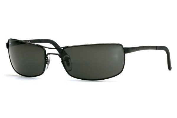 Очки Ray-Ban Highstreet RB3212-006 Matte BLack | Natural Green (G-15 XLT)