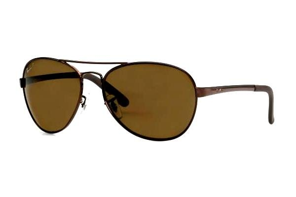 Очки Ray-Ban Highstreet RB3213-014 Brown | Natural Brown (B-15XLT)
