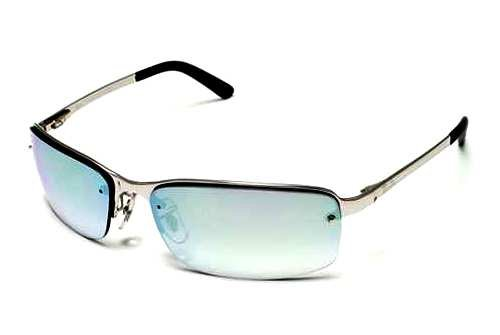 Очки Ray-Ban Highstreet RB3217-003-Z1 Silver | Light Gradient Grey