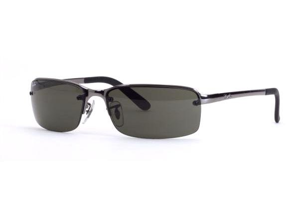 Очки Ray-Ban Highstreet RB3217-004-71 Gunmetal | Crey/Green