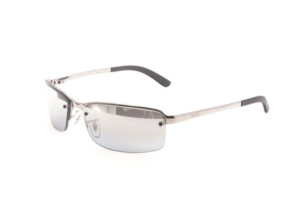 Очки Ray-Ban Highstreet RB3217-004-82 Gunmetal | APX Silver Mirror Polarized P3