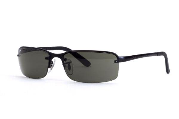Очки Ray-Ban Highstreet RB3217-006-71 Matt Black | Grey/Green
