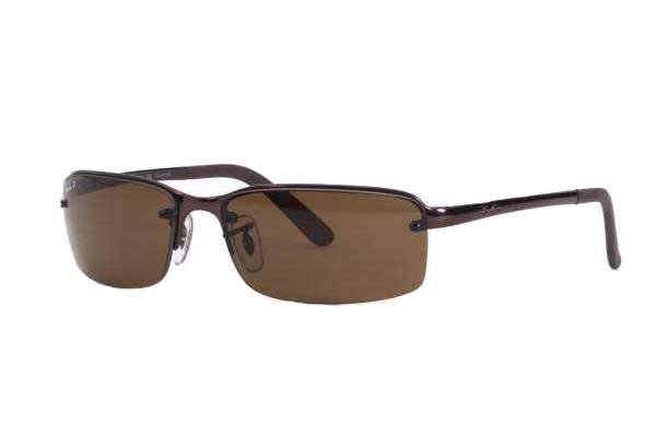 Очки Ray-Ban Highstreet RB3217-014-83 Brown/Poly. Polar Brown Polarized P3