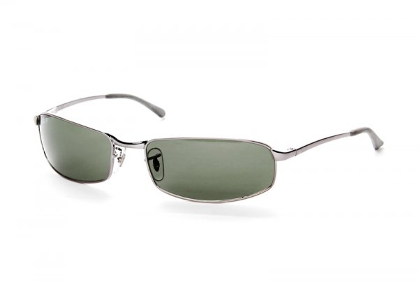 Очки Ray-Ban Highstreet RB3218-004-48 Gunmetal | Natural Green Polarized