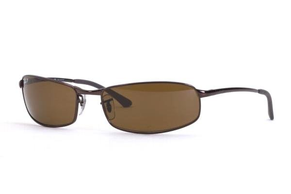 Очки Ray-Ban Highstreet RB3218-014-47 Brown | Brown Polarized