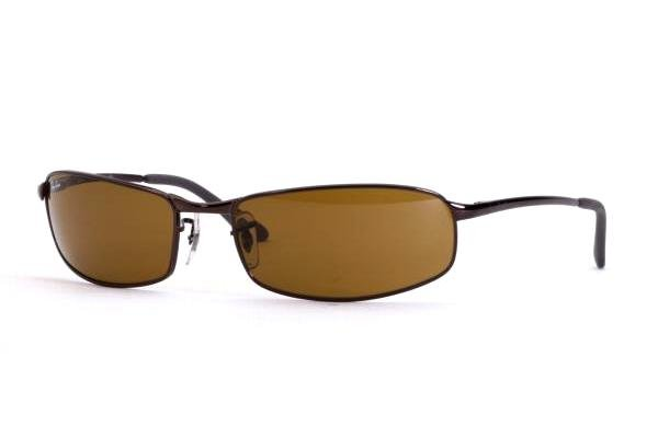 Очки Ray-Ban Highstreet RB3218-014 Brown | Natural Brown (B-15XLT)