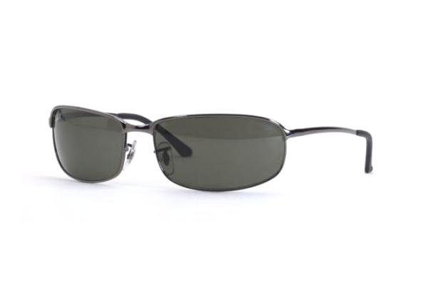 Очки Ray-Ban Highstreet RB3220-004-48 Gunmetal | Natural Green Polarized